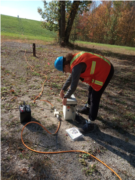 Geoelectrical groundwater monitoring method gives detailed picture of aquifers