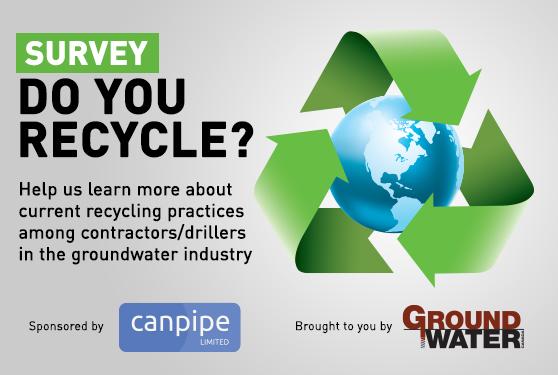 Contractor/Driller Survey: Do You Recycle?